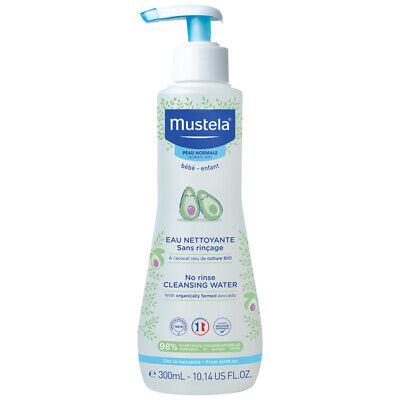 Mustela No Rinse Cleansing Water 300ml Online Only