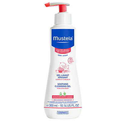 Mustela Soothing Cleansing Gel Fragrance Free 300ml Online Only
