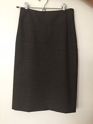 Theory Gray Pencil Skirt Size 4