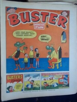 Buster & Monster Fun Comic.[ 2Nd June 1979]. Leopard From Lime Street