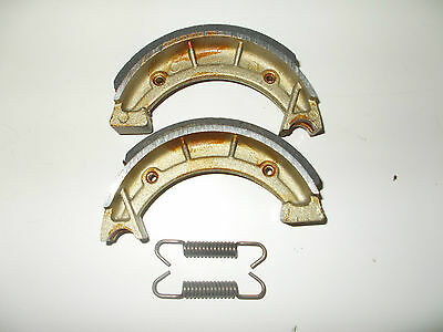 Pair Brake Shoes Front Mx Twin 250