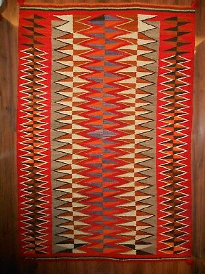 Gorgeous Early NAVAHO NAVAJO Indian Rug/Weaving....Four Corners Area....VGCond
