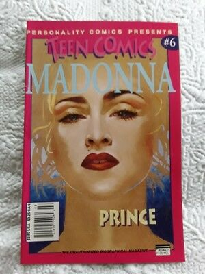 Teen Comics #6 Madonna & Prince Personality Comics 1993 Great Condition