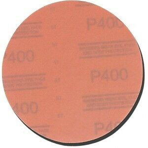 3M Red Abrasive Stikit Disc, 6 inch, P400 grit, 01108, 1108 - 100 discs per roll