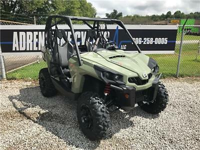2018 Can-am Commander 1000 DPS  3 Miles Green  1000 Automatic