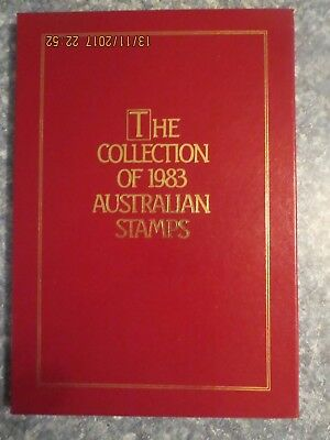 The Collection of the 1983 Australian Stamps - Deluxe Edition