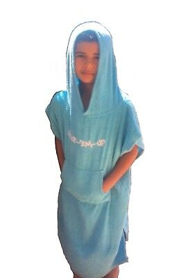 Kids Beach Hooded Poncho Towel