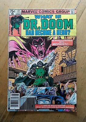 What If #22 (Aug 1980, Marvel) ...Dr. Doom Had Become a Hero?