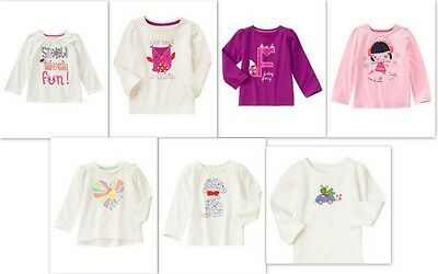 NEW Gymboree girls Fall Winter Spring long sleeve size 4T NWT YOU PICK