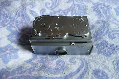 VINTAGE MAMIYA Super 16 AUTOMATIC  SPY CAMERA WITH CASE , Made in Occupied Japan