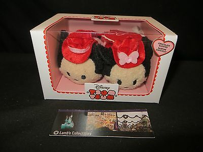 Disney Store Authentic Mickey Mouse Minnie Mouse Tsum Tsum Chocolate Valentine