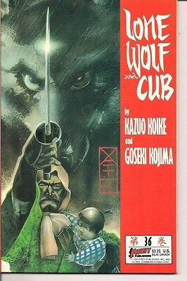 Lone Wolf and Cub #36 by First Publishing