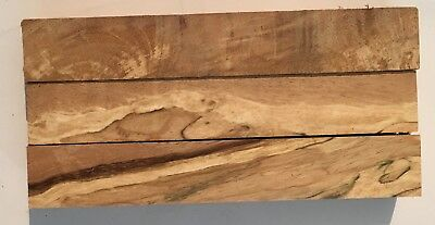 Highly Figured Acacodo Wood Pen Turning Blanks - 3 in lot - 22x22x125