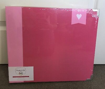 Project Life Album Strawberry Pink 12x12