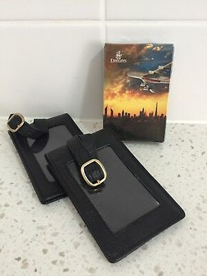 Emirates Airline Playing Card And Genuine Bag Tags, Brand New