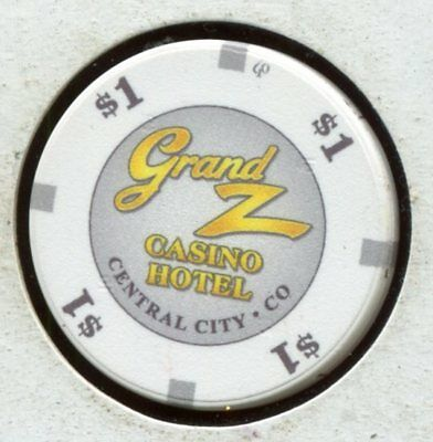 Grand Z $1 Central City CO New Casino! CG185610  Additional Chips Ship for 25c !