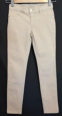 COUNTRY ROAD ~ Kids Bone Beige Light Tan Stretch Cotton Skinny Jeans 8