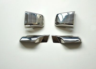 Scania Door Hinge Cover Super Polished Stainless Steel 4 Pcs