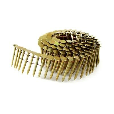 meite 15 Degree Round Head 1-3/4'' ×.120'' Wire Smooth Shank Coil Roofing Nails