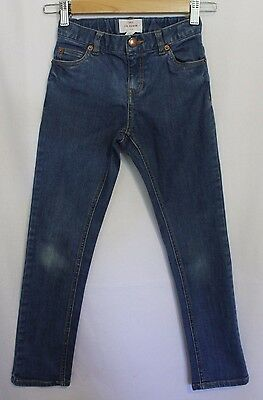 COUNTRY ROAD ~ Kid Unisex Medium Blue Skinny Jeans 7 ~ RRP $54.95 pair 1