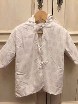 Dior Baby Girls Vintage Dressing Gown. Size 6 Months