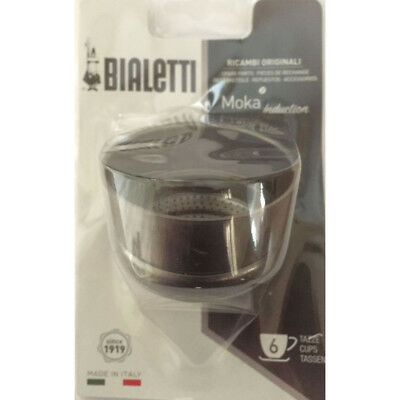 Bialetti - Moka Induction Funnel 6 Cup Blister