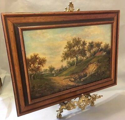 Early 20th Century Oil On Canvas- Framed. Unsigned