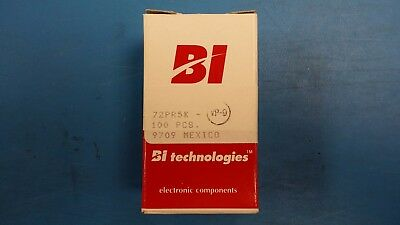 (10 PCS) 72PR5K BI TECHNOLOGIES Trimmer Resistors 9.53MM 3/8 SINGLE TURN SEALED