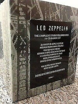LED ZEPPELIN The COMPLETE Studio Recordings 10 CD BOX SET NEW All Albums + Book