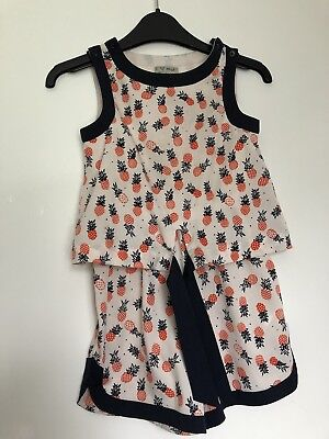 Next Girls Play suit Pineapple Age 5