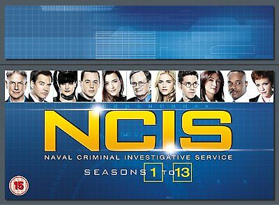 N.C.I.S. Complete Series 1-13 SEALED/NEW  complete season ncis 5053083136758