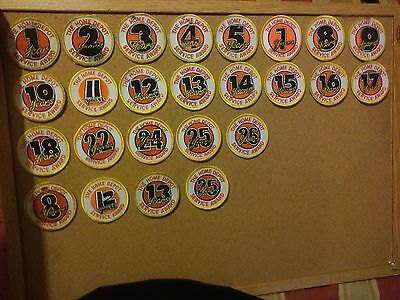 Lot Of 25 Assorted Years Of Service Home Depot Patches