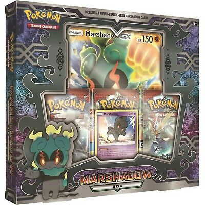 Pokemon: Marshadow Collection Box: Inc 3 Booster Packs + Promo Cards