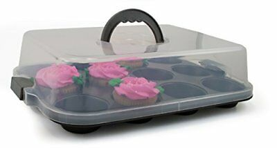 Oneida 12 Cup Non-Stick Covered Muffin Pan, New