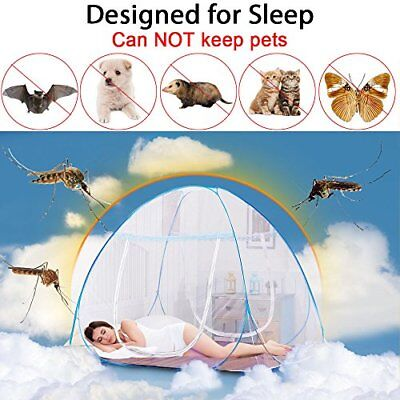 Yoosion Anti Mosquito Nets Pop Up Mosquito Net Bed Tent with Bottom 200(L)*180(W