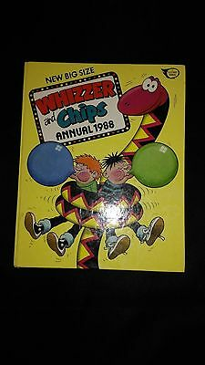Whizzer And Chips Annual 1988 Retro/Vintage Comic Book
