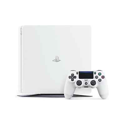 Sony PlayStation 4 500GB PS4 Slim Console White -  Free Next Day UK delivery