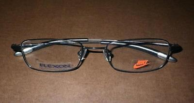 571203c7aa Nike with Flexon 4068 001 Men s Eyeglasses Rx Frames 49-18-140 Black Chrome