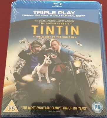The Adventures Of Tintin - The Secret Of The Unicorn (Blu-ray and DVD Combo, 20…