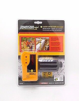 Johnson Red Beam Rotary Laser Detector with Clamp