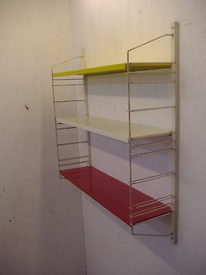 """Tomado like 3 shelves Drente yellow-white and red Industrial Era 30.3 x 25.6"""""""