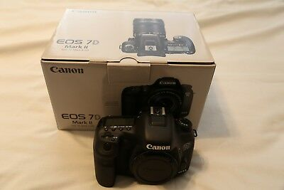 Canon EOS 7D Mark II 20.2MP Digital SLR Camera - Black (Body Only) - USED