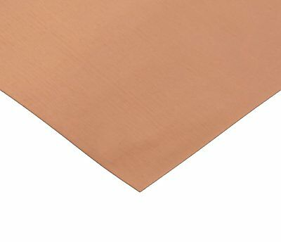"RMP 110 Copper Sheet - 0.021"" Thickness (16 Oz) 1/8 Hd, 12"" Width, 24"" Length"