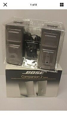Bose Companion 2 Series II Multimedia Stereo Speaker System - NICE & WORK GREAT