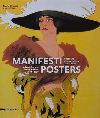 BOOK : POSTERS - Advertising and Italian Fashion 1890 - 1950
