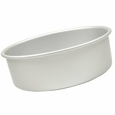 Fat Daddio's Anodized Aluminum Round Cake Pan, 6 Inches by 3 Inches, New