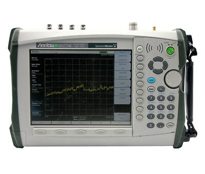 ANRITSU MS2724B, HAND-HELD SPECTRUM AN; 9kHz TO 20 GHZ
