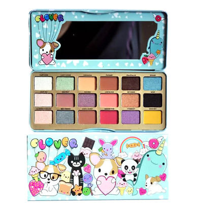 Too faced Clover A Girl's Best Friend Eyeshadow Palette18 colors natural Make-Up