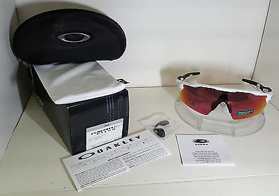 NEW Oakley Sunglasses RADAR EV PITCH POLISHED WHITE /PRIZM FIELD OO9211-04
