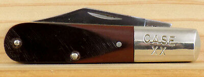 Case Xx Usa #62009-1/2 Barlow Knife Saw Cut Delrin Handles 1 Dot 1979 Used
